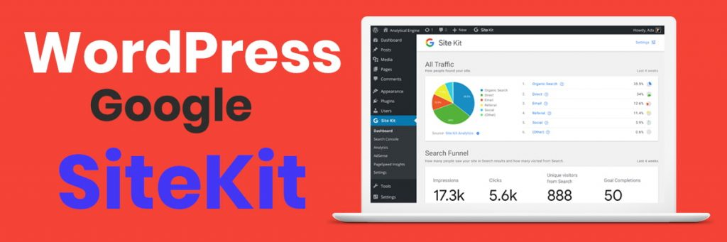 wordpress google site kit